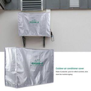 HOUSSE DE PROTECTION MEIHE Extérieur Climatiseur Couverture Anti-Poussi