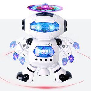 ROBOT - ANIMAL ANIMÉ Robot électrique Humanoïde de Jouet  Dansant Lumin