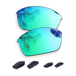 Nouvelle coutume Polarisée Bleu Glace XLJ lentille pour la moitié veste lunettes de soleil