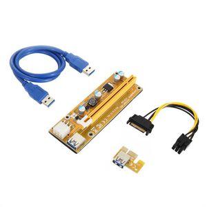 Riser PCI-E Express x1 to x16 USB 3.0 Powered PCE164P-N06 Ver 008sMining $€£