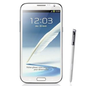 SMARTPHONE RECOND. Blanc Samsung Galaxy Note 2 N7100 16GB occasion dé