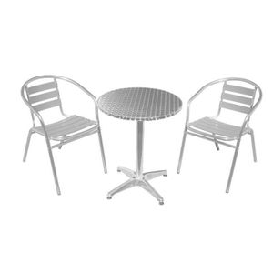 Amazon Salon De Jardin Aluminium Awesome Salon De Jardin Alu Bistrot ...