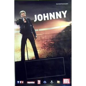 johnny hallyday poster achat vente johnny hallyday. Black Bedroom Furniture Sets. Home Design Ideas