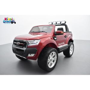 VOITURE ELECTRIQUE ENFANT Ford Ranger 2 x 12V Phase 2 Rouge Cuivre métallisé