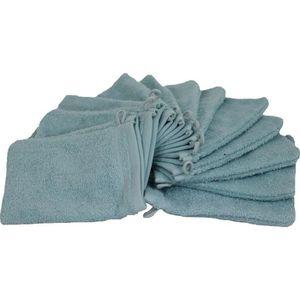 CORR Gants de toilette beige 100/% coton LOT de 3 20x14 cm