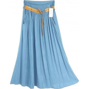 JUPE Jupe longue évasée  Camilla - couleur : bleu - Tai