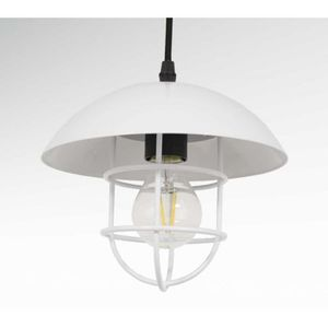 Suspension luminaire vintage blanc achat vente for Luminaire suspension blanc