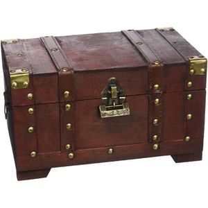 COFFRE - MALLE Brynnberg - Boîte de Rangement - Coffre de Pirate