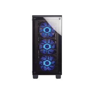BOITIER PC  Corsair Crystal Series 460X RGB Tour midi ATX pas