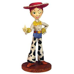 FIGURINE - PERSONNAGE Toy Story Woody's Roundup statuette Jessie 13 cm
