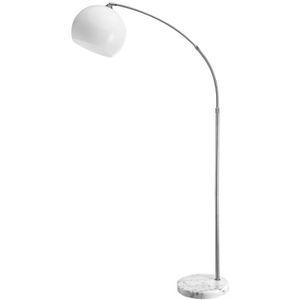 LAMPADAIRE Lampe à arc Design avec socle en marbre - Réglable