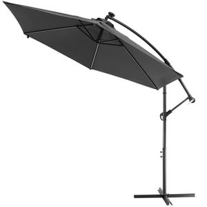 Parasol Déporté En Aluminium Avec Toile En Polyester 250 G