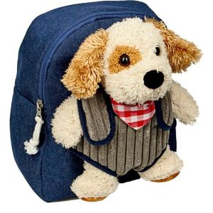 SAC À DOS Die Spiegelburg Small Bag With Dog Tim Plush Funny
