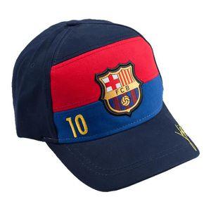 Taille Adulte r/églable Casquette FC Barcelona Player Messi Produit officielle