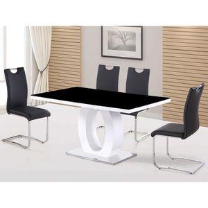 TABLE À MANGER SEULE Table repas rectangulaire