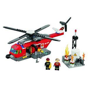 ASSEMBLAGE CONSTRUCTION LEGO 60010 CITY - L'HÉLICOPTÈRE DES POMPIERS