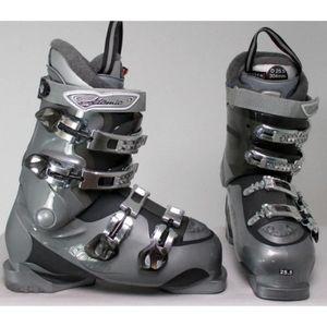 CHAUSSURES DE SKI Chaussures de ski occasion Atomic 25 gris