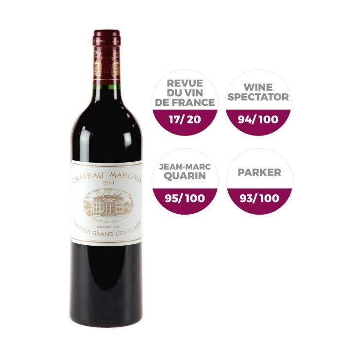 Château Margaux 2011 Margaux Grand Cru - Vin rouge de Bordeaux