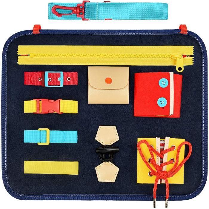 Busy Board pour Enfants Jouets & Cadeaux [Jouets Montessori, Jouets éducatifs, Activites Manuelles ]