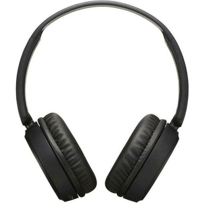 JVC HAS35BTBU Wireless Bluetooth On-Ear Headphone│Bass Boost│10m│Black