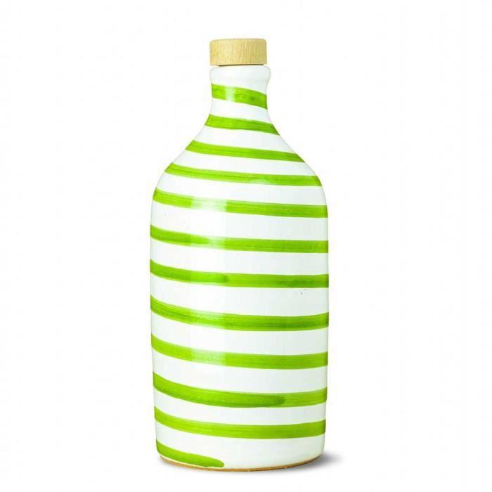Muraglia - Huile d'Olive Extra Vierge Cruche Capri Vert(Fruitée Moyenne) 500ml