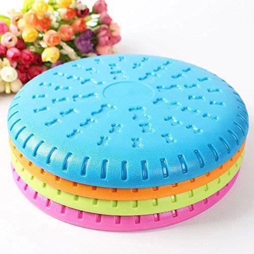 Frisbee pour Chien 23 CM en Silicone et caoutchouc ne blesse pas les gencives
