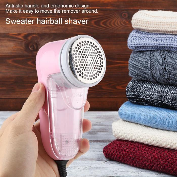 Garosa rasoir à charpie Tondeuse à pilules de pull portable rasoir électrique pour vêtements en tissu peluche