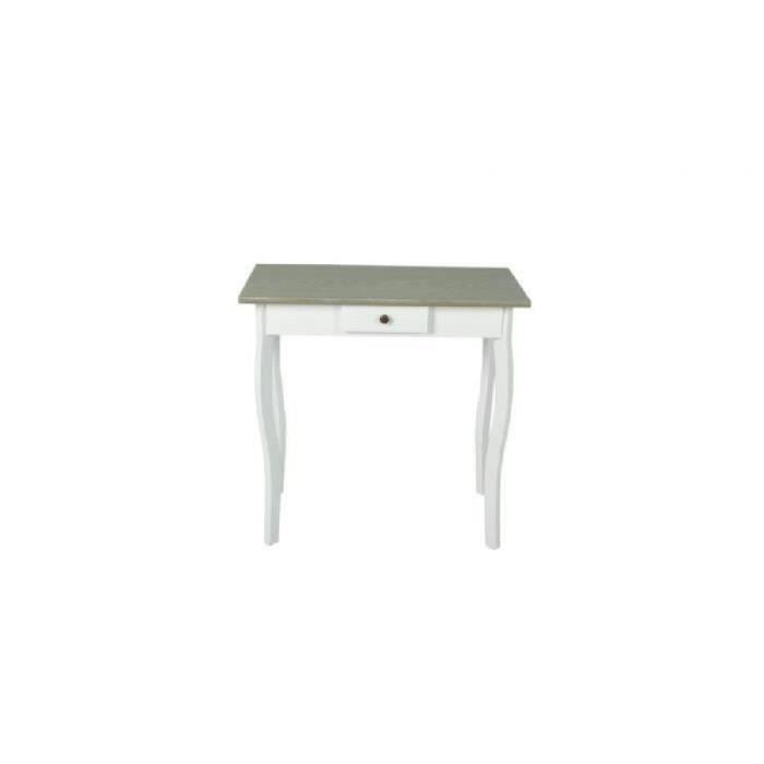 Console de style maison de campagne design absolu avec 1 tiroir rangement petit objet pratique Salon