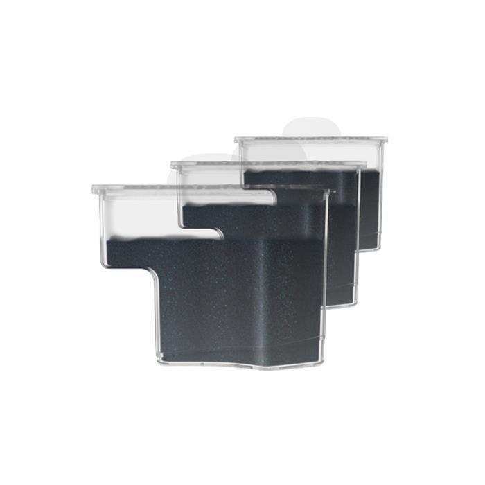 Laurastar Pack de 3 cartouches anticalcaires pour filtrer l'eau - 606.7830.750