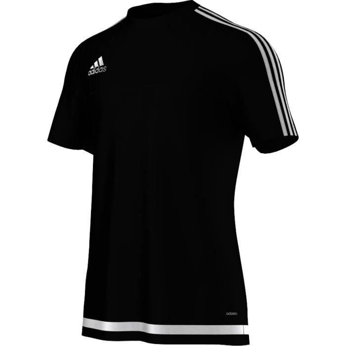 Maillot d'entraînement adidas Tiro15 Noir/blanc...