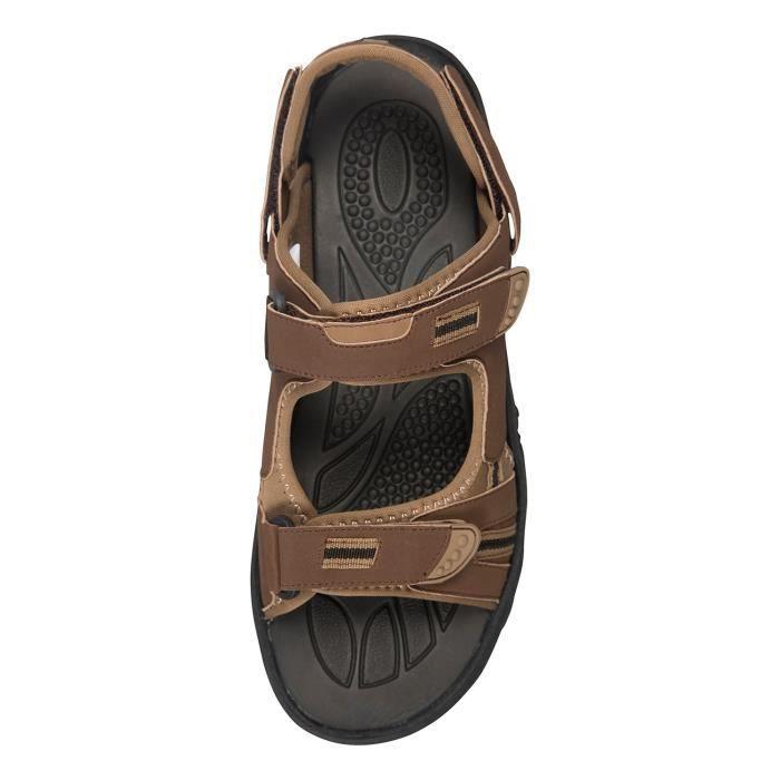 Mountain Warehouse Chaussures de marche Homme Sandales été Réglable Daim et Phylon Z4