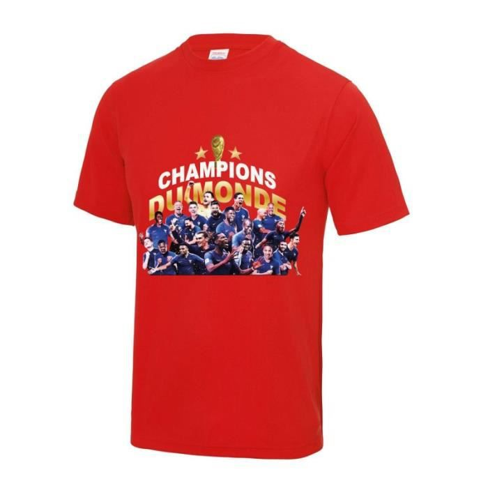 Maillot - Tee shirt équipe de Franc