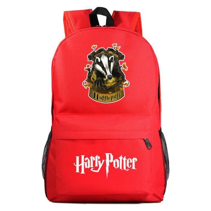 MOBIGARLAN Sac à Dos - Sac d'École dos étudiant Harry Potter imprimé pour enfant adolescent modèle 24