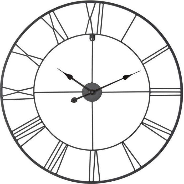 CEANOTHE Horloge Forge 80 cm