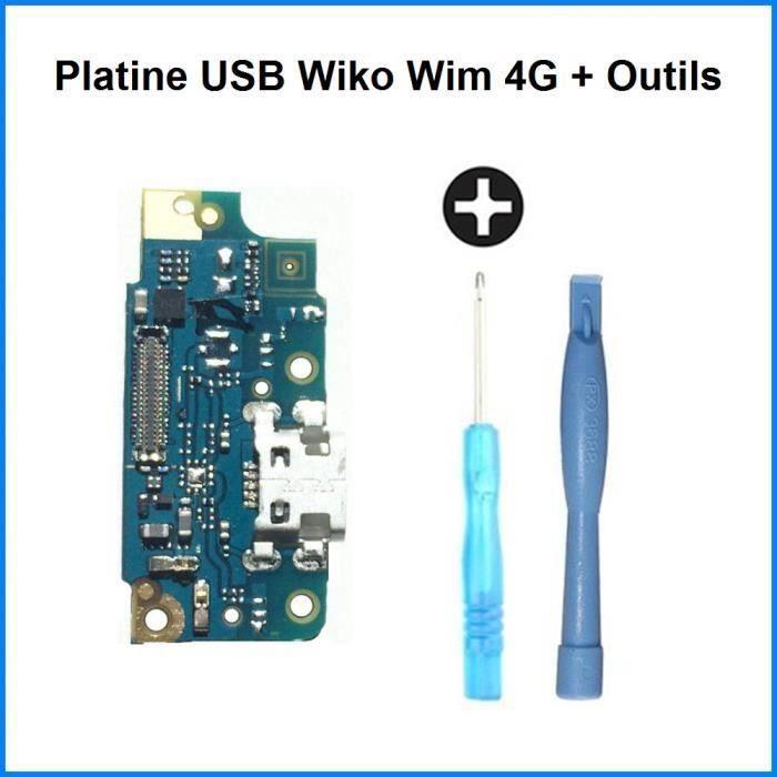 Connecteur de Charge USB Wiko Wim 4G - 100% ORIGINAL + Outils
