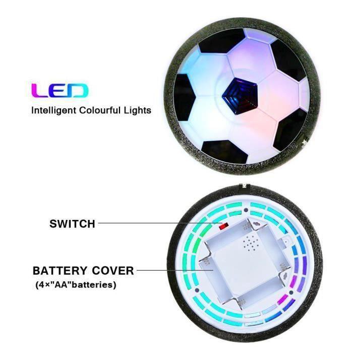 RD20578-Air Power Football, Ballon de Foot avec Lumière LED, Jeux de Plein Air Enfant Jeu de Jouets Ball, Jeux de Foot Enfant Cade