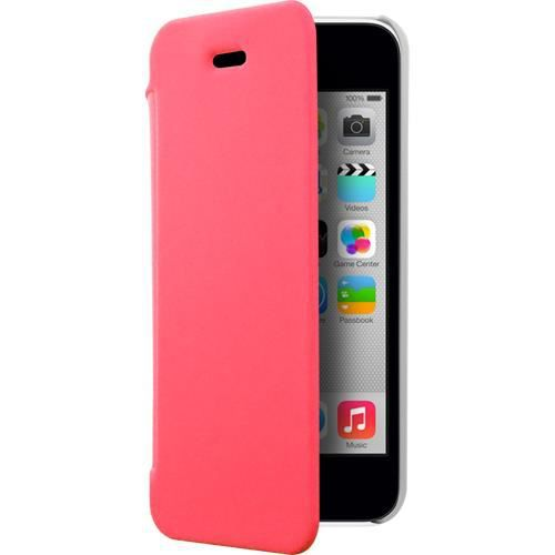 Etui coque rose made in france pour iphone 5c achat for Housse iphone 5c