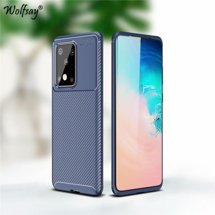 Coque Samsung A21 - Anti-Rayures Protection - Bleu EJ09548 ...