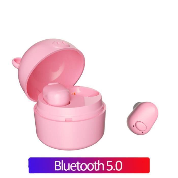Bluetooth 5.0 Écouteur Pour Femmes Vrai Sans