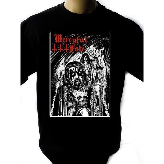 T-shirt uni homme col V noir manches FUMA