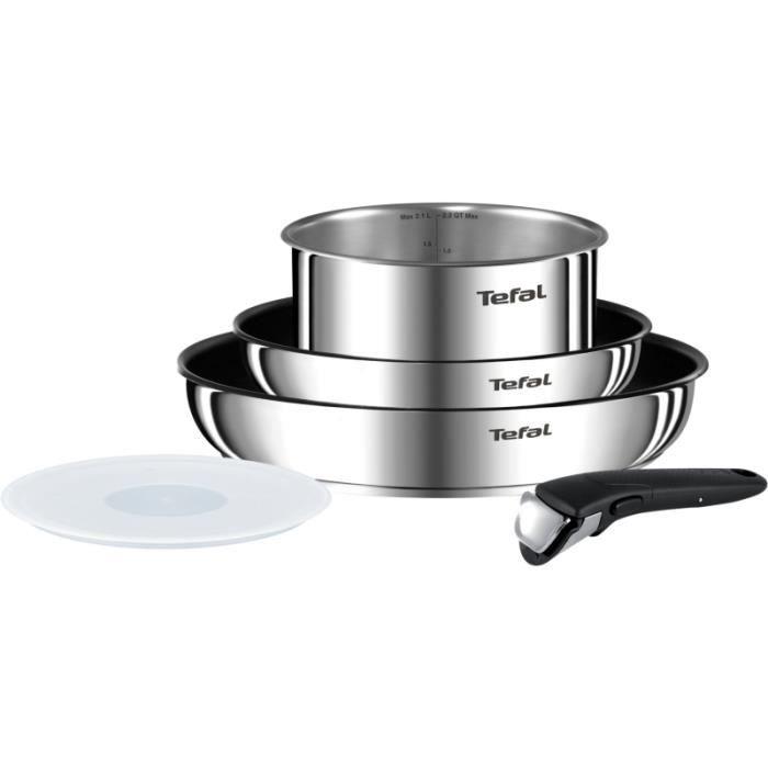 Batterie De Cuisine Tefal Ingenio Emotion Revetu 5 Pcs L948s504