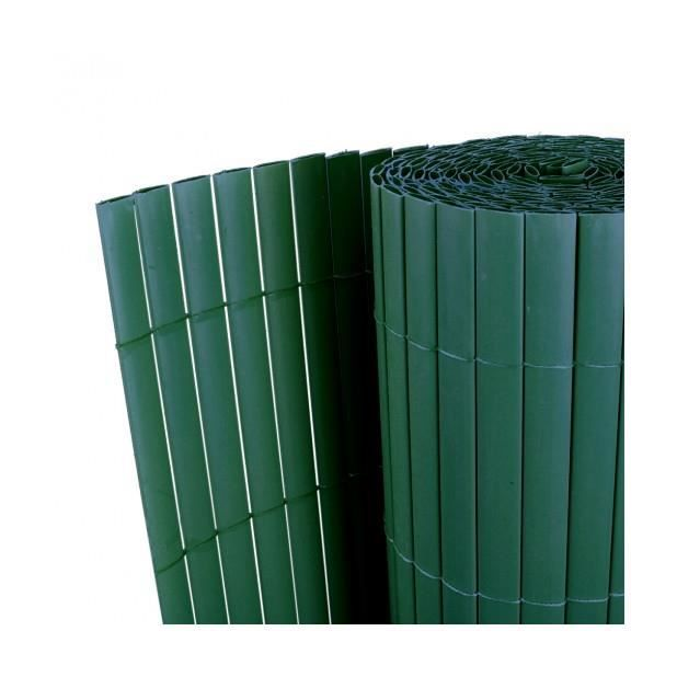 Superbe cl ture de jardin vert double face pvc 90x300cm 12 for Barriere piscine aqualux