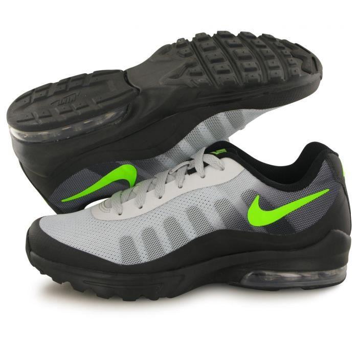 Baskets Nike Air Max Invigor noir / vert homme Noir - Cdiscount ...