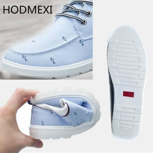 Mode Chaussure Homme Canvas-Toile Basket Homme ...
