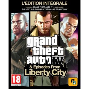 JEU PS3 GTA IV édition intégrale - Jeu PS3