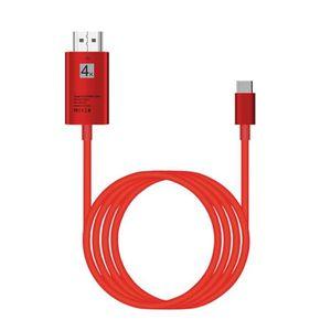ADAPTATEUR AUDIO-VIDÉO  Type-C USB3.1 Pour USB-C 4K 2K câble adaptateur HD