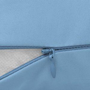 COUSSIN ALLAITEMENT Oreillers  Coussin de grossesse 90 x 145 cm Bleu c