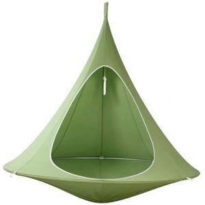 Explopur Camping Hamac Tente darbre Suspendue avec balan/çoire et moustiquaire en moustiquaire