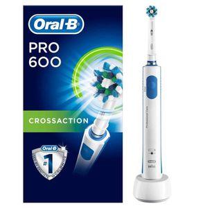 BROSSE A DENTS ÉLEC Oral-B PRO 600 CrossAction Brosse À Dents Électriq