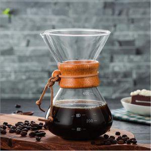 CAFETIÈRE  400ml cafetière verre durable degré élevé